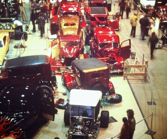 Toppers' Rod and Custom Show at the Fargo Civic Arena